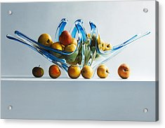 A Poor Man's Apple Acrylic Print by Mark Van crombrugge