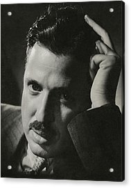 A Portrait Of Donald Deskey Acrylic Print