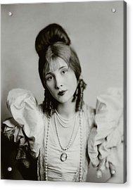 A Portrait Of Edythe Baker Acrylic Print