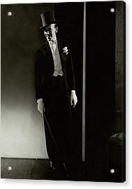 A Portrait Of Fred Astaire Acrylic Print by Edward Steichen