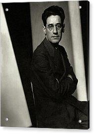 A Portrait Of George S. Kaufman Acrylic Print