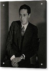 A Portrait Of Irving Grant Thalberg Acrylic Print