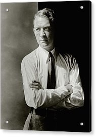 A Portrait Of John Held Jr Acrylic Print