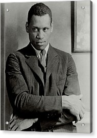 A Portrait Of Paul Robeson Acrylic Print by Ralph Steiner