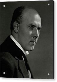 A Portrait Of Walter Gieseking Acrylic Print
