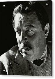 A Portrait Of Warner Oland Acrylic Print