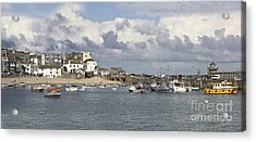 A Postcard From St Ives Acrylic Print by Terri Waters