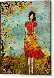 A Prairie Autumn Day Acrylic Print by Janelle Nichol