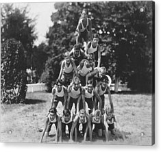 A Pyramid Of Boys Acrylic Print