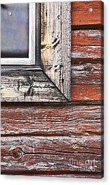 A Quarter Window Acrylic Print by Heiko Koehrer-Wagner