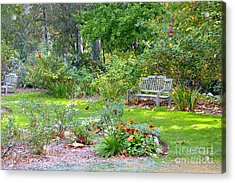 A Quiet Day In The Park Acrylic Print