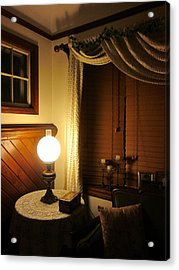 A Quiet Little Corner Acrylic Print by Guy Ricketts