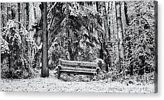 A Quiet Place Acrylic Print by Tim Gainey