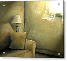 A Quiet Room Acrylic Print