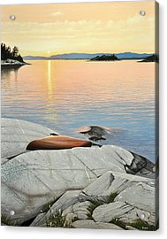 A Quiet Time Acrylic Print