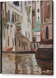 A Quiet Venice Canal Acrylic Print