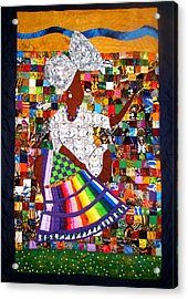 A Quilter's Dream Acrylic Print by Aisha Lumumba