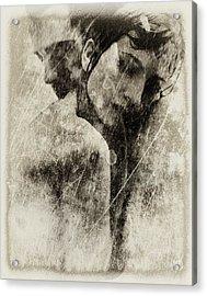 A Rainy Day We Need Closeness Acrylic Print by Gun Legler