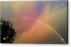 A Ranbow Acrylic Print by Chris Tarpening