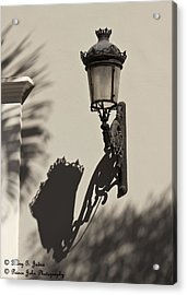 A Reflection On Illumination Acrylic Print