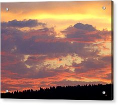 A Remarkable Sky Acrylic Print by Will Borden