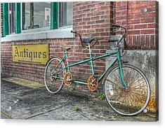 A Ride For Two Acrylic Print by Lynn Jordan