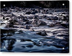 A River Called Iller Acrylic Print
