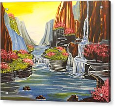 A River Runs Through It Acrylic Print