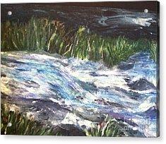 A River Runs Through Acrylic Print