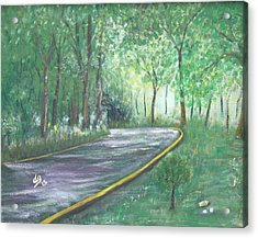 A Road Least Traveled Acrylic Print