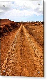 A Road Less Traveled Acrylic Print by DJ Florek