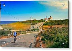 A Road To Coast Guard Beach Eastham Cape Cod Acrylic Print by Dapixara Art