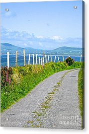 Acrylic Print featuring the photograph A Road To Waterville by Suzanne Oesterling