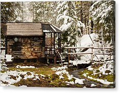A Roof And A Hot Spring Acrylic Print