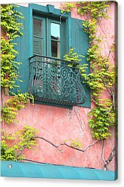 Room With A View Acrylic Print by Brooks Garten Hauschild