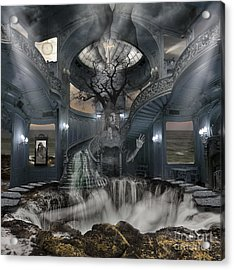 A Room Within My Mind Acrylic Print by Keith Kapple