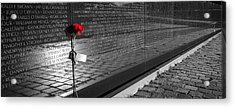 A Rose For Vietnam Acrylic Print