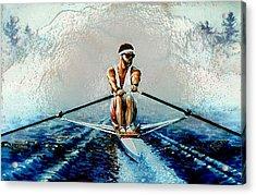A Rowers Dream Acrylic Print