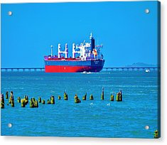 A Safe Harbor Acrylic Print