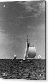 A Sailboat Called Columbia Acrylic Print