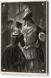 A Scene From Shakespeare's Comedy (or Acrylic Print by Mary Evans Picture Library