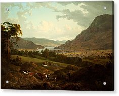 A Scene In The Lake District Acrylic Print