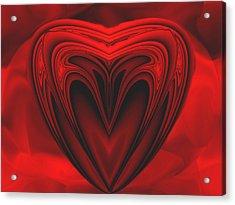A Secret Love Acrylic Print by Wendy J St Christopher