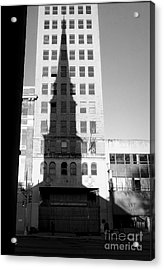 A Shadow Looms Over Us All Acrylic Print by James Aiken