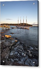 A Ship Acrylic Print by Jon Glaser