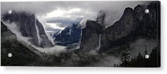 A Shrouded Sorceress Casts Wide Her Spell Acrylic Print