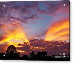 A Sky Like No Other Acrylic Print