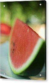 A Slice Of Watermelon Acrylic Print