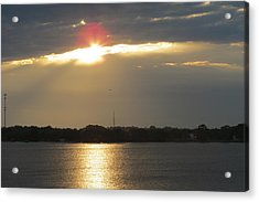 A Slot For The Sun Acrylic Print