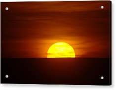 A Slow Sunset Acrylic Print by Jeff Swan